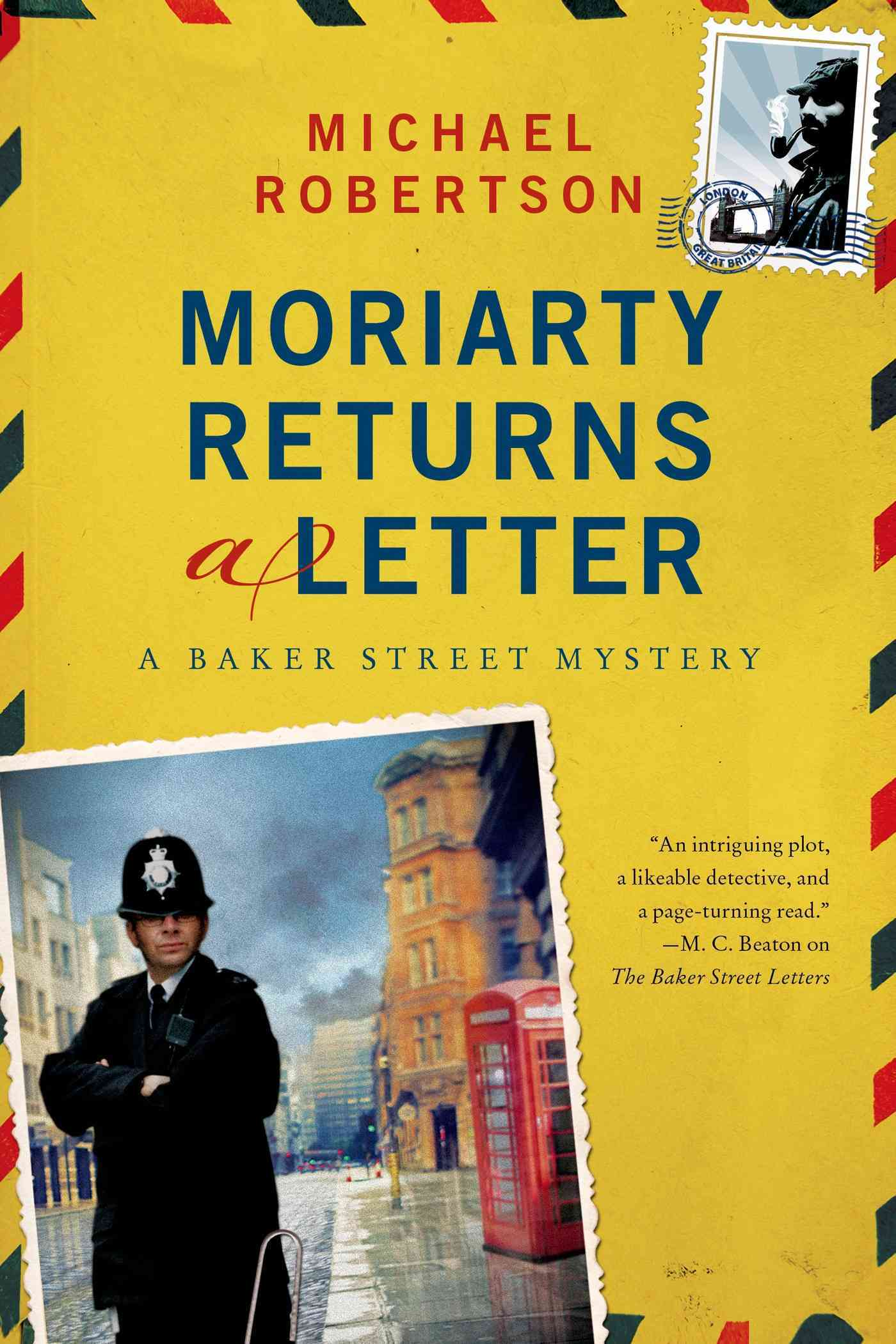 Moriarty Returns a Letter By Robertson, Michael